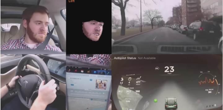 Tesla Model 3, Autopilot için sürücüye bakan bir kameraya sahip