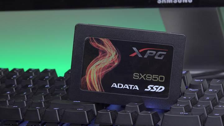 ADATA XPG SX950 SSD incelemesi
