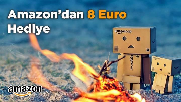Amazon'dan 80 Euro'ya 8 Euro Hediye!