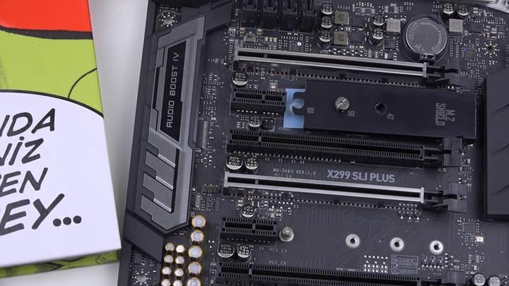 MSI X299 SLI Plus incelemesi