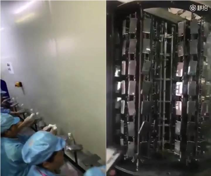 iPhone 8 bu kez Foxconn fabrikasının üretim hattında görüntülendi