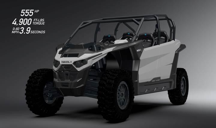 Nikola Motor üstün özelliklere sahip elektrikli UTV'sini duyurdu