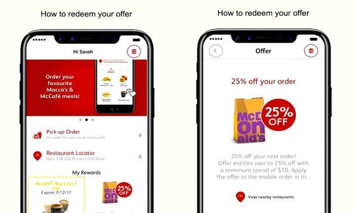 McDonald's'ın tanıtım mailinde iPhone 8 görseli