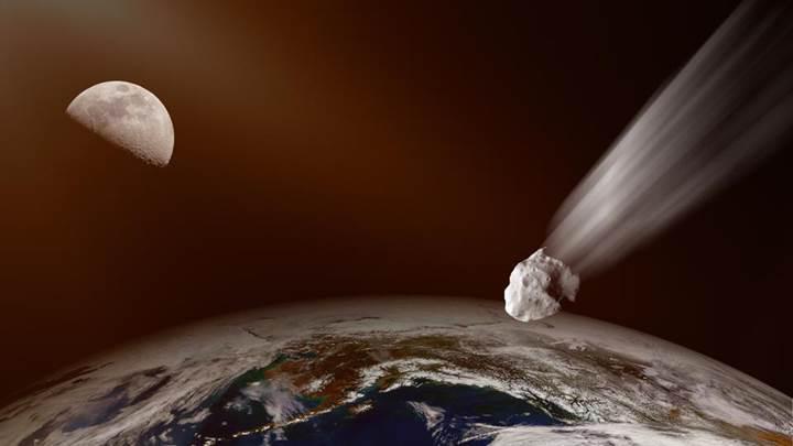 4.4 kilometre çapındaki dev asteroit Dünya'yı teğet geçecek