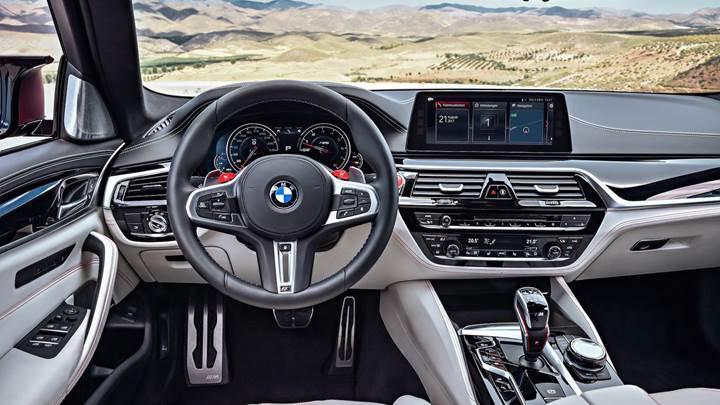 2018 BMW M5, 600 beygir gücüyle artık resmi!