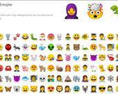 Yeni Emojiler!  Android platformundaki emojiler pek sevilmiyordu. Bunun farkında olan Google, emojilere makyaj çekmiş. Yeni emojiler, iOS ekosistemindeki emojilere benziyor.