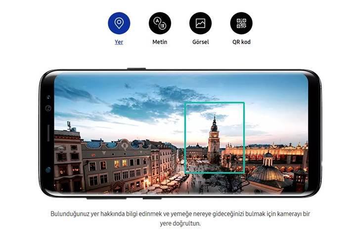 Samsung'un akıllı sanal asistanı Bixby'nin arayüzü artık Türkçe!