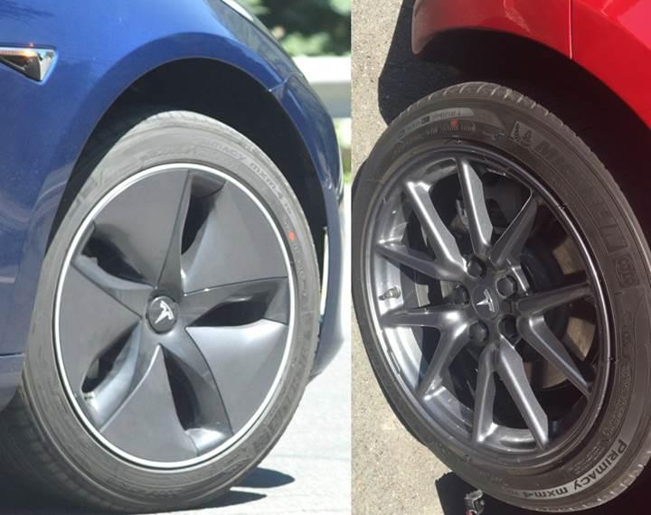 Tesla Model 3'ün aero jantları %10'a varan verimlilik sağlıyor