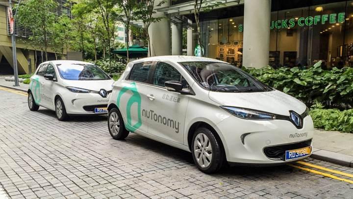 NuTonomy Singapur'da otonom taksi hizmeti sunacak