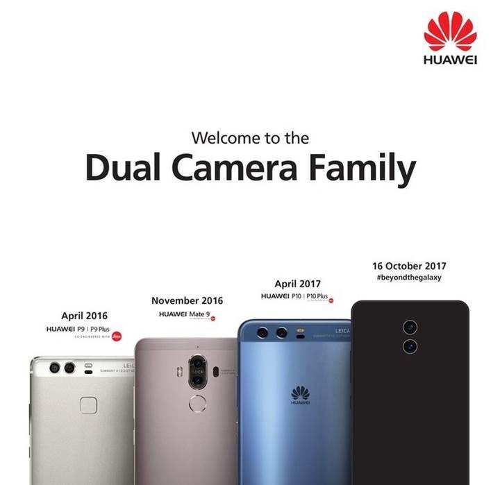 Huawei'den Samsung'a gönderme: Çift kamera ailesine hoşgeldiniz!
