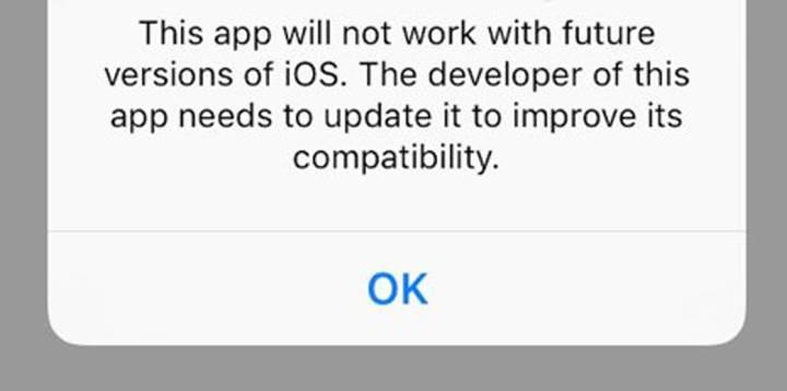 187,000 uygulama iOS 11 ile devre dışı kalıyor