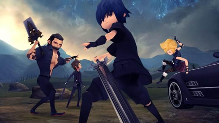 Final Fantasy XV: Pocket Edition için 20 Dakikalık oynanış videosu