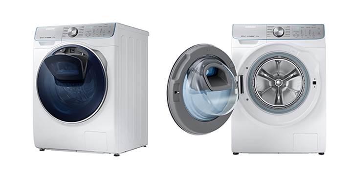 Samsung'dan yapay zeka tabanlı çamaşır makinesi