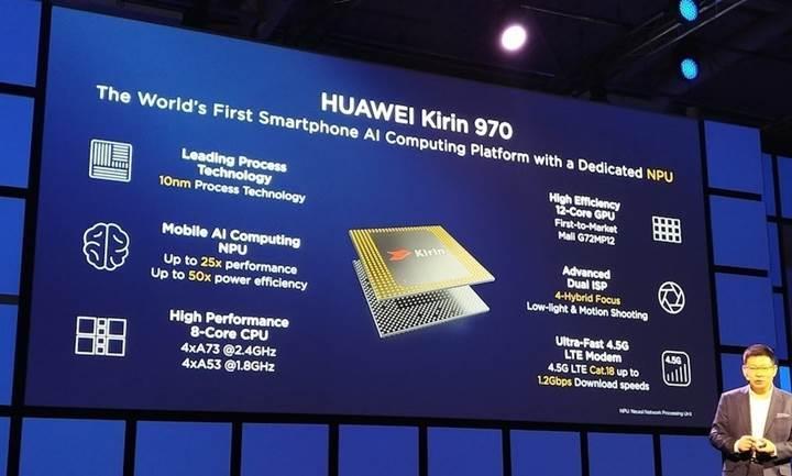 Huawei, Kirin 970 ile iPhone 8'i gölgede bırakacağına inanıyor