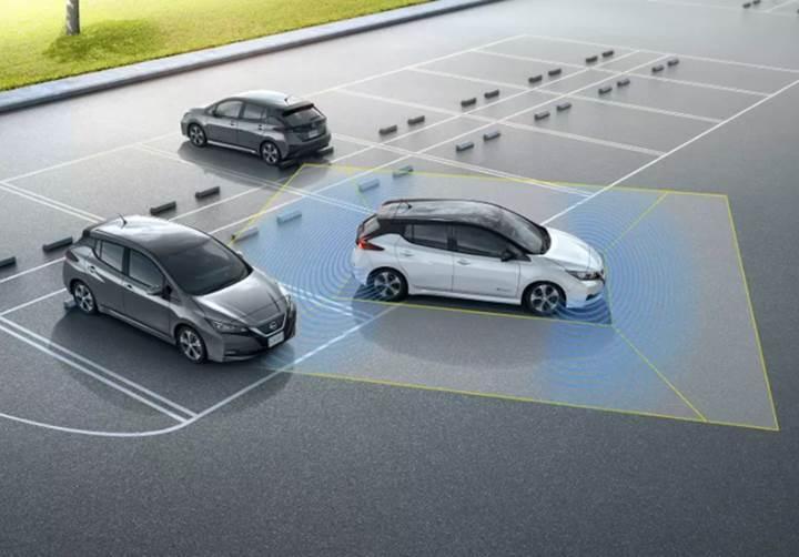 Tek pedala sahip E-Pedal teknolojili, 2018 Nissan Leaf