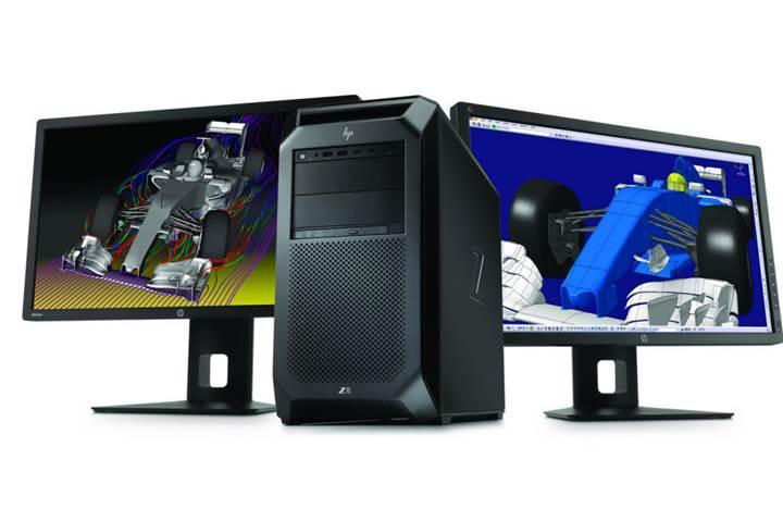 3TB RAM ve 48GB ekran kartına sahip yeni HP Z iş istasyonları