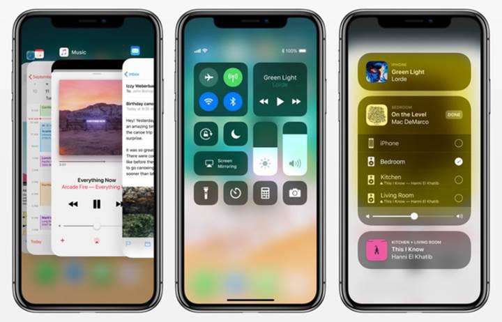 iPhone X, iPhone 8 ve iPhone 8 Plus batarya kullanım süreleri
