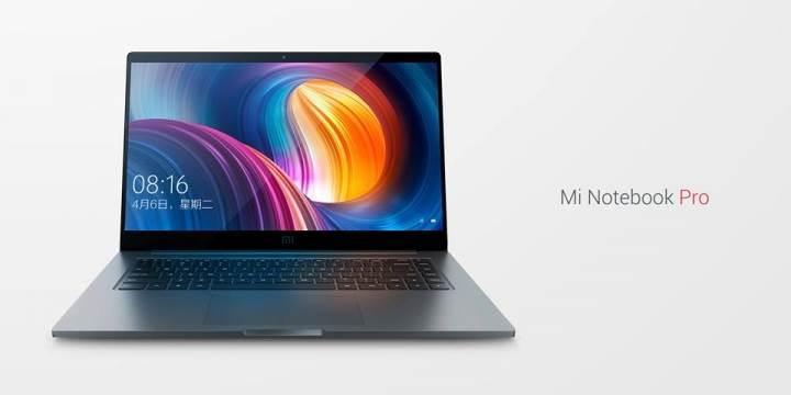 Xiaomi Mi Notebook artık Pro
