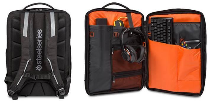 Steelseries ve Targus oyuncu sırt çantası geliştirdi