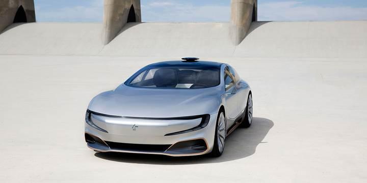 LeEco'nun elektrikli aracı Faraday Future'dan izler taşıyor