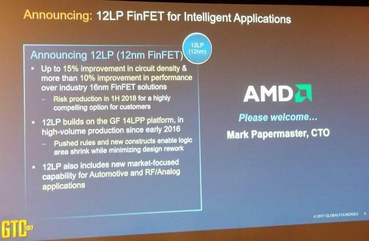 AMD gelecek yıl 12nm sürecine geçiş yapıyor