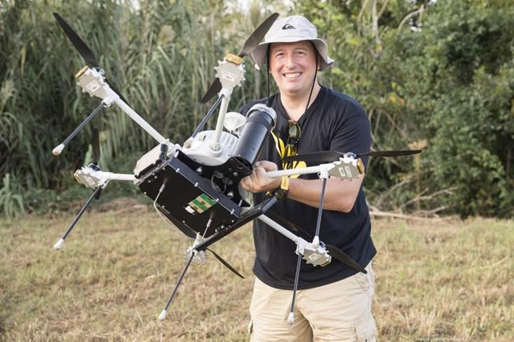 Sprint drone'ları mini baz istasyonuna dönüştürüyor