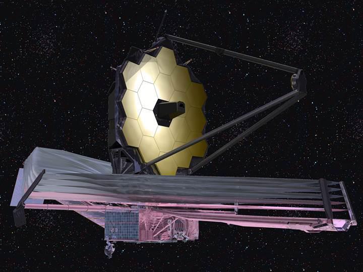 NASA'nın 8.8 milyar dolarlık dev teleskobu 2019'a ertelendi