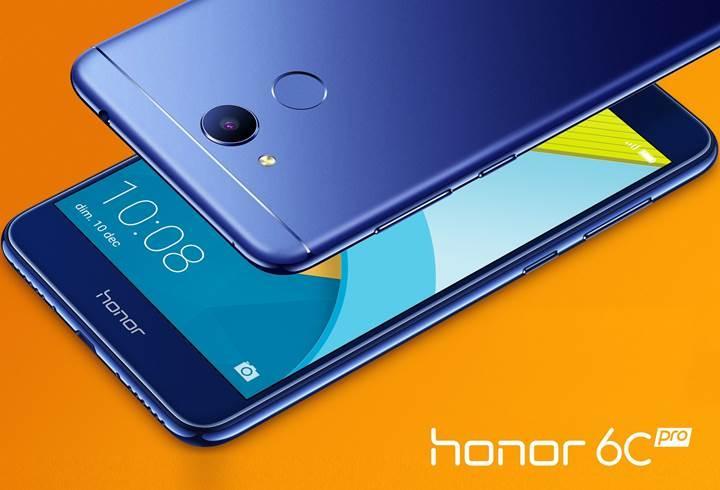 Giriş seviyesi Huawei Honor 6C Pro duyuruldu