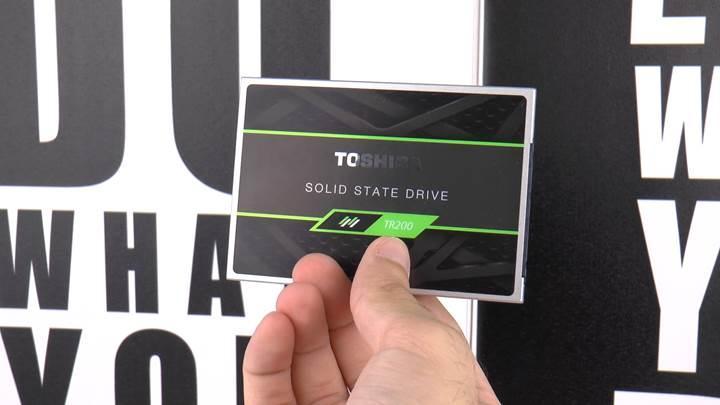 Toshiba TR200 SSD incelemesi