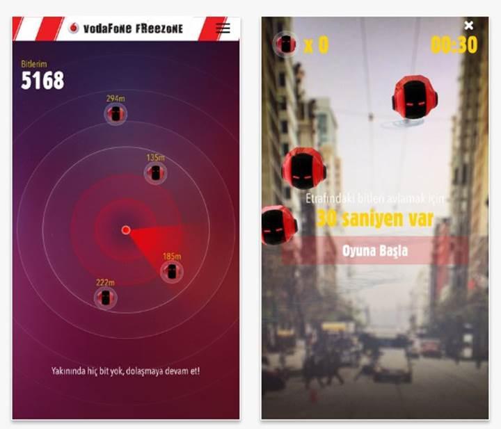 Vodafone'dan internet kazandıran Pokemon GO benzeri mobil oyun