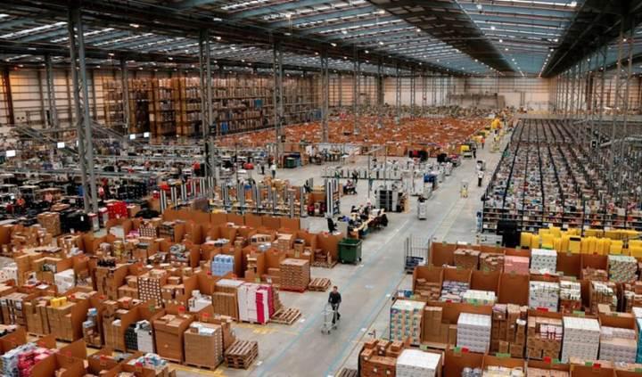 Amazon'un çalışan sayısı yarım milyonu geçti