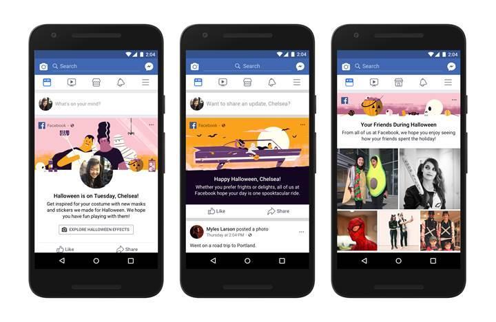 Facebook, Cadılar Bayramı özelikleriyle güncellendi