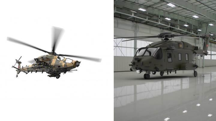 Atak 2 ve genel maksat helikopterinin kavramsal tasarımları yayınlandı
