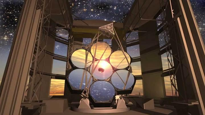 Dev Macellan Teleskopu evrenin gizemlerini keşfetmeye hazırlanıyor