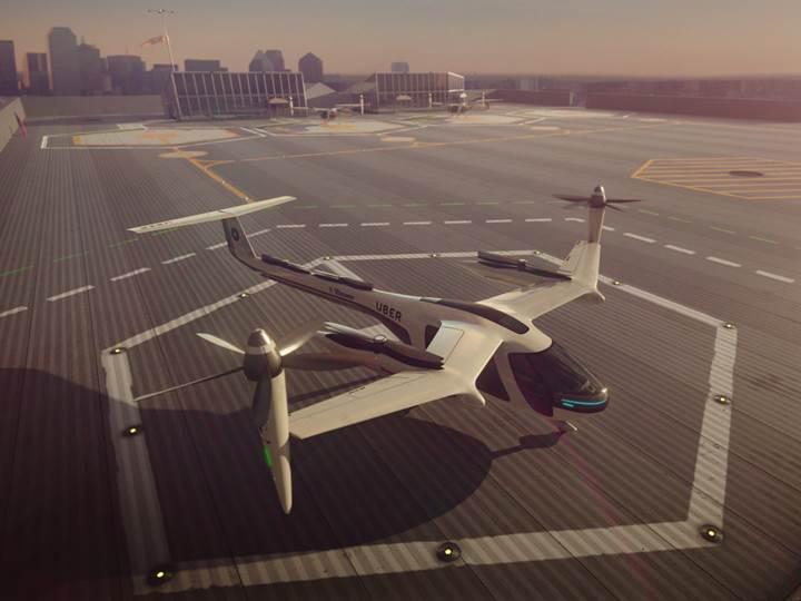Uber, uçan taksi projesinin detaylarını açıkladı: 2020 yılında testler başlıyor