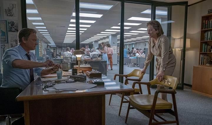 Spielberg'in yeni filmi The Post'un ilk fragmanı yayınlandı
