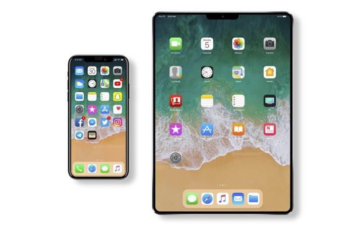 Apple ince çerçeveli, Home tuşu olmayan ve Face ID'li yeni bir iPad üzerinde çalışıyor
