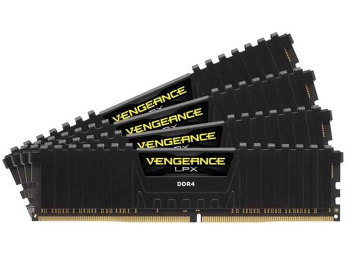 Corsair'den dünyanın en hızlı 4x8GB DDR4 bellek kiti