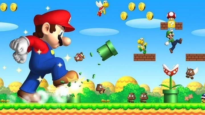 Super Mario Bros beyaz perdeye geri dönüyor