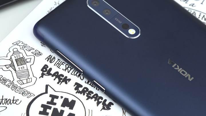 Nokia 8 incelemesi