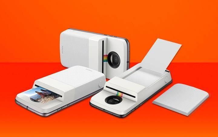 Moto Z modellerinde Insta-Share Printer dönemi