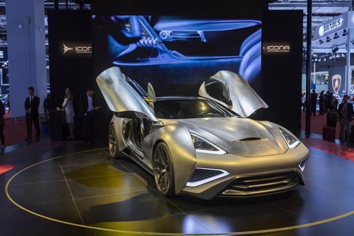 Dünyanın ilk titanyum gövdeli otomobili: Icona Vulcano