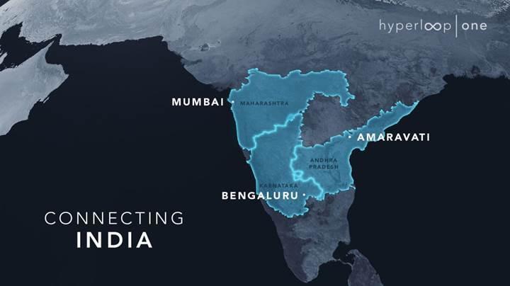 Virgin Hyperloop One, Hindistan'da ulaşım ağı kurmayı planlıyor