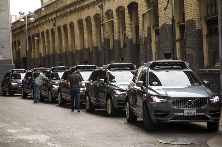 Uber, Volvo'dan sürücüsüz otomobil filosu için 24 bin XC90 sipariş etti
