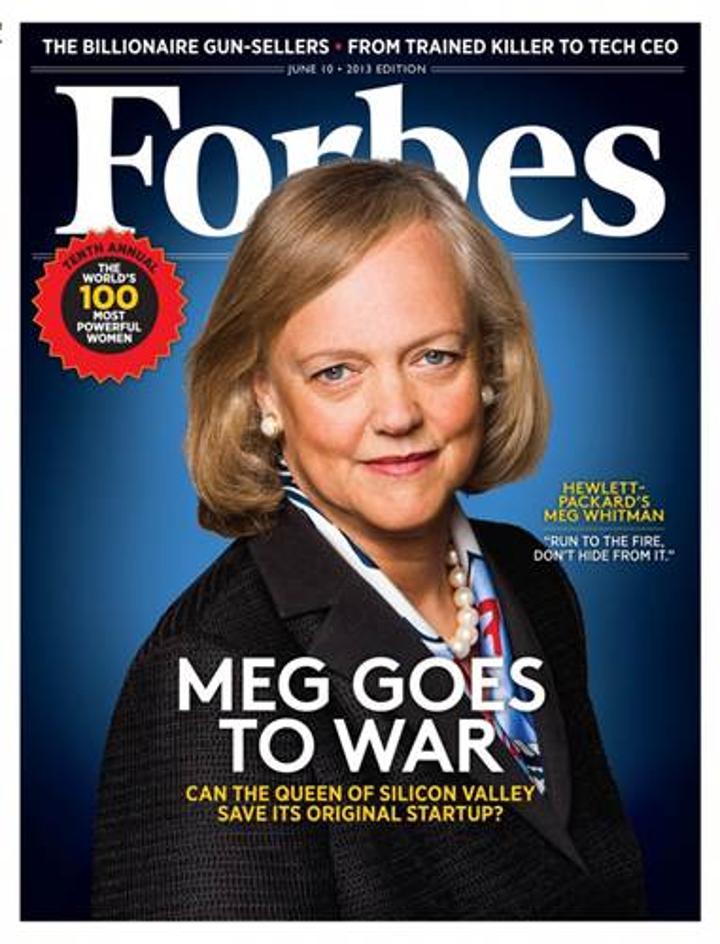 HP patronu Meg Whitman görevi bırakıyor