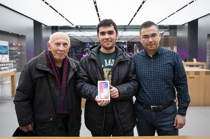 Ülkemizdeki ilk iPhone X sahipleri belli oldu