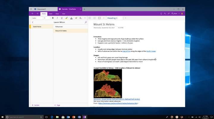 Windows 10 uygulamalarına akıllı sekme özelliği geliyor