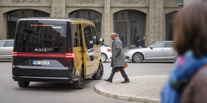 Volkswagen araç paylaşım servisi için yeni bir elektrikli van geliştirdi