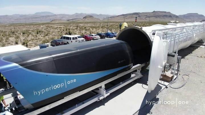 """""""Cumhurbaşkanı Erdoğan Hyperloop projesine sıcak bakıyor"""""""