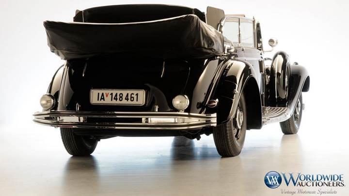 Adolf Hitler'in Mercedes'i açık arttırmaya çıkıyor